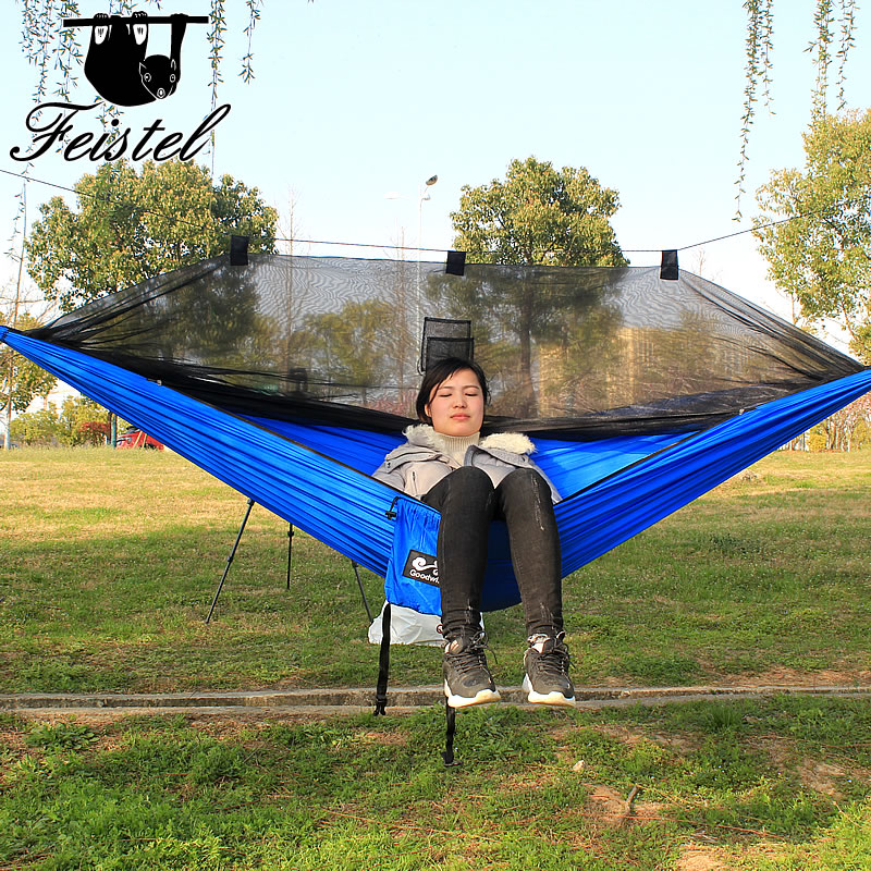 Portable Lightweight Double Camping Hammock