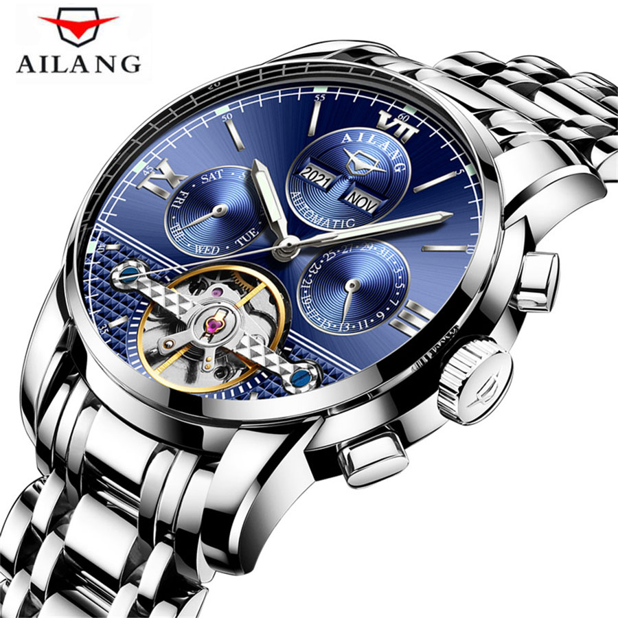 2018 Luxury Mechanical Watch Tourbillon Designer Watches Top Quality Sapphire Glass Watch with Date Day Full Steel Watch for Men2018 Luxury Mechanical Watch Tourbillon Designer Watches Top Quality Sapphire Glass Watch with Date Day Full Steel Watch for Men