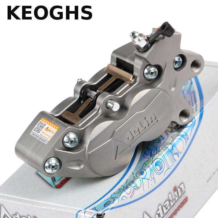 Keoghs Adelin Brake Caliper Adl-07 40mm 4 Piston Stable Quality For Honda Yamaha Kawasaki Suzuki Motorcycle Motorbike Scooter quik lok rs513