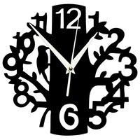 Настенные часы, бесшумные, не тикающие, кварцевый механизм, 3D, дерево, часы, для помещений, кухни, Настенный декор гостиной