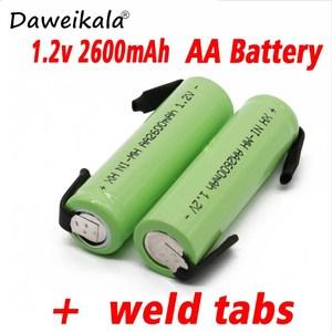 AA Ni-Mh 1.2V AA rechargeable