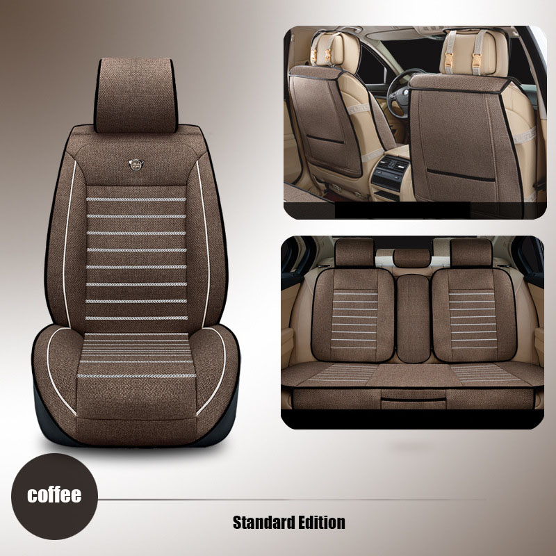 Kiváló minőségű vászon Univerzális autós üléshuzatok Toyota - Autó belső kiegészítők - Fénykép 5