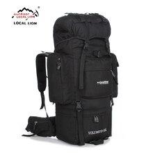Bolsa grande LOCALLION de 85L para exteriores, mochila de escalada, mochila multifuncional para senderismo, mochila de gran capacidad, bolsas para deportes de acampada