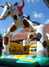 2017 hot small horse inflatable jumping castle,playing inflatable bouncy castles, inflatable combo inflatable toy for sale