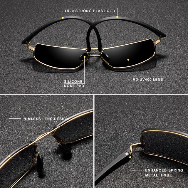 KINGSEVEN Men's Stylish Polarized Sunglasses