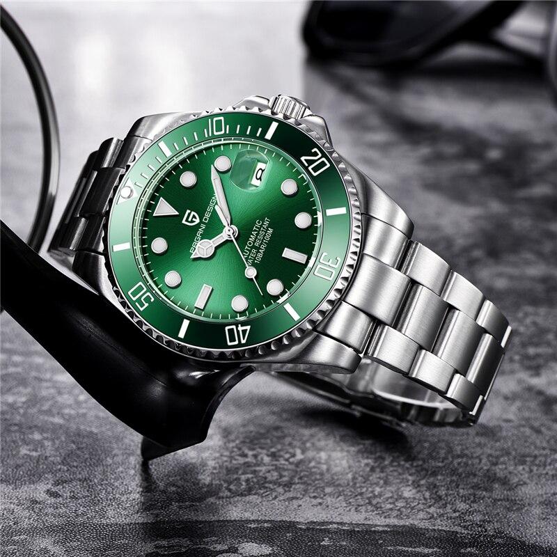 PAGANI DESIGN Brand Luxury Men Watches Business Sport Waterproof Automatic Mechanical Sapphire Wristwatch Relogio Masculino 2019 - 4