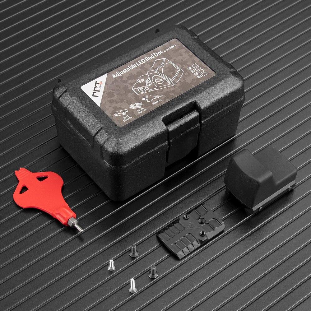 base glock revolver mira reflex scope fit 05