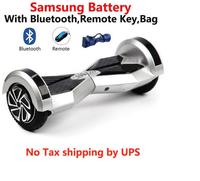 No Tax Hoverboard 8 Inch Self Balancing Scooter LED Light Samsung Battery Electric Skateboard Smart Balance