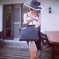 Mujeres del verano Plegable Grande Ancho de Ala Playa Sol Sombrero de Paja Casquillo de la Playa Para Las Señoras Elegantes Sombreros Niñas Sombrero de Viaje de Vacaciones