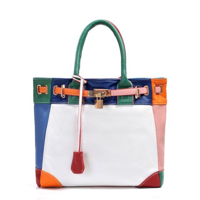 2017 New Fashion PU Leather Women bag handbags, ladies' Shoulder BagMessenger Bag~ Hit colors ~ Free Shipping~06