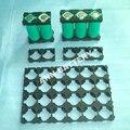 El Envío Gratuito! 26650 soporte de la batería titular de soporte de la batería de 26650 celdas de Li-ion Cilíndrico Utilizado para el paquete de batería de litio