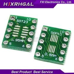 10 шт SOT23 MSOP10 SOP10 UMAX к DIP10 передачи доска DIP-контактный Board шаг адаптер igmopnrq