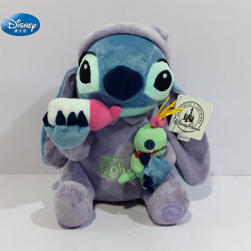 28 cm cute Lilo and Stitch plush toys disney Creativity Stuffed Plush Doll Toys Kids Birthday Gift28 cm cute Lilo and Stitch plush toys disney Creativity Stuffed Plush Doll Toys Kids Birthday Gift