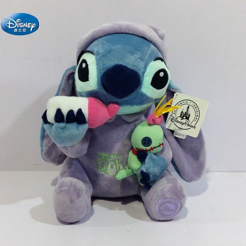 28 cm mignon Lilo et point jouets en peluche disney créativité peluche poupée jouets enfants cadeau d'anniversaire