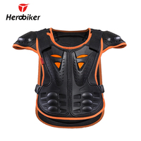 HEROBIKER Kids Body Armor Children Armor Vest Protective Suitable For 4 12 Age Skate Board Skiing
