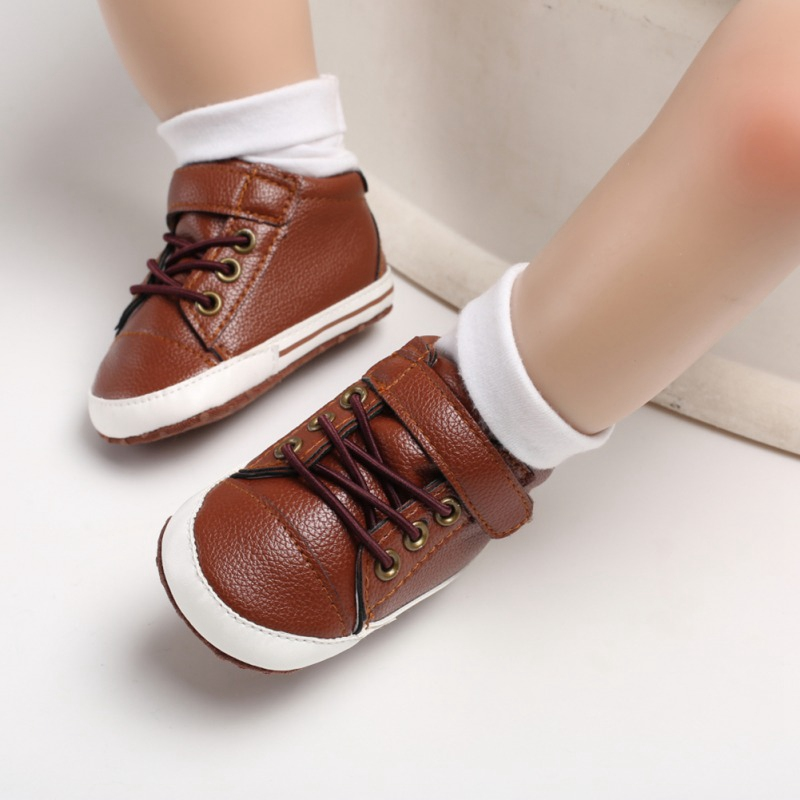 Baby Boy Shoes First Walkers Fashion Baby Boys Soft Bottom Casual Cute Breathable Shoes Newborn Toddler Shoes Baby Shoes 0-18M