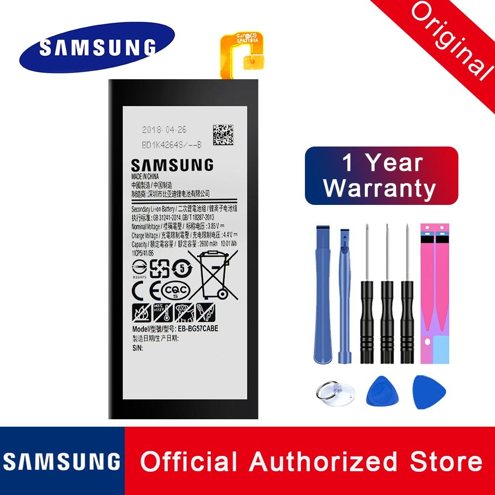 100% Original Replacement Battery EB-BG570ABE EB-BG57CABE EB-BG57CABG For Samsung Galaxy On5 - J5 Prime Phone batteria + Tools