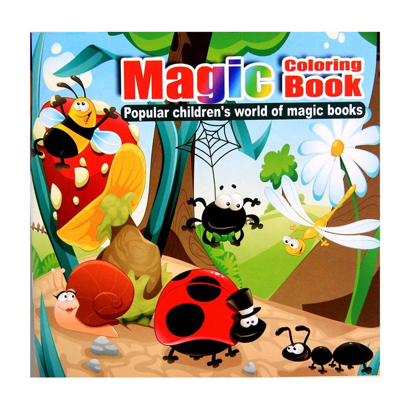 Forest Animal Cartoon Puzzle Book Coloring Book Children's Intelligence Development Child Interaction Interest Cultivation