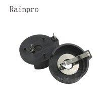 Rainpro 5 pçs/lote CR2477 CR2450 DIP suporte Da Bateria Botão novo