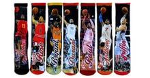Kobe sports stockings font b basketball b font socks Jordon men