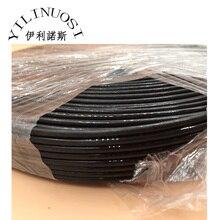 10meter 8-lines black UV Ink Tube ECO Solvent 2.6mm x 3.6mm