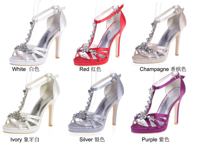 Elegant Party Prom Cocktail Evening Dress Shoes