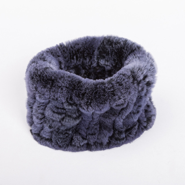 Color Hole Fur Collar | Neck Scarves