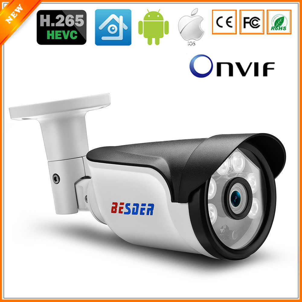 BESDER H 265 IP POE Security Camera Bullet Outdoor