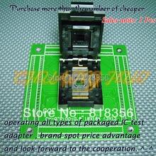 CH-QFP100-0.5 Programmer Adapter TQFP100 QFP100 18x18 13x13 Adapter QP1-100050-027 Adapter/IC SOCKET(Flip test seat) hot stock pmd 200 pat5479168 ssp26812fu100 hdcd qfp100