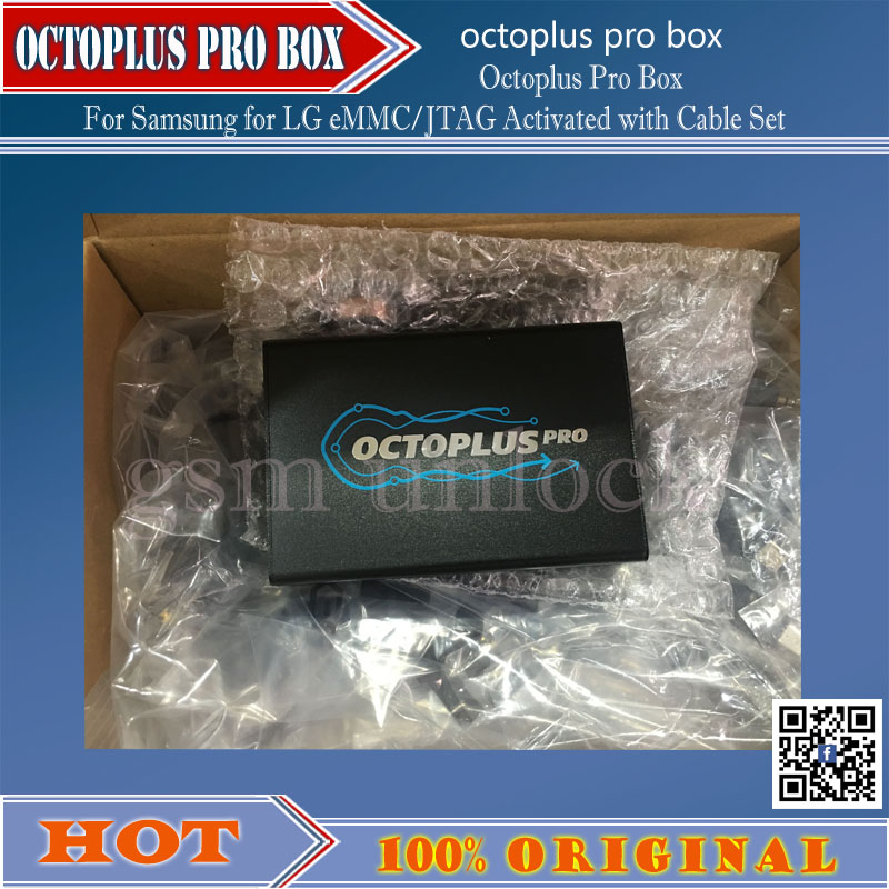 gsmjustoncct Free Shipping Octoplus Box for Samsung for LG eMMC JTAG Activated with with Optimus Cable