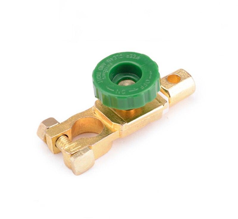 Envío conector de interruptor de batería de cobre de alta calidad, terminal de batería
