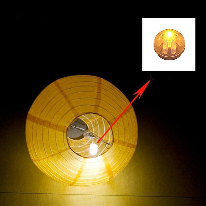 100 Pcs/lot Round Ball Led Balloon Lights Mini Flash Lamps for Lantern Christmas Wedding Party Decoration XHC88