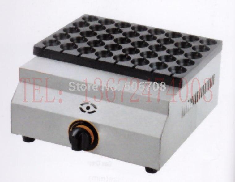 Газовый Тип Мини 40 отверстий маленькое устройство для приготовления такояки meatball чайник перепелиная печь для яиц