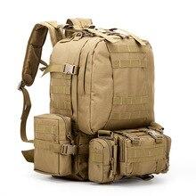 4pcs/set man backpack Oxford waterproof boys bags men fashion military shoulder bag