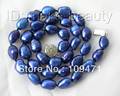 11mm baroque blue freshwater cultured pearl necklace