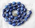 11mm azul barroco cultivadas de agua dulce collar de perlas