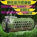 Outdoor Bluetooth Speaker Sport NFC Waterproof Shockproof Dust-proof Portable Bluetooth Speakers Deep Bass Booster Mic