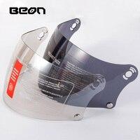 Beon helmet visor B 510 full face helmet visor lens motorcycle capacete PC Anti UV visor lens Brown and Light brown