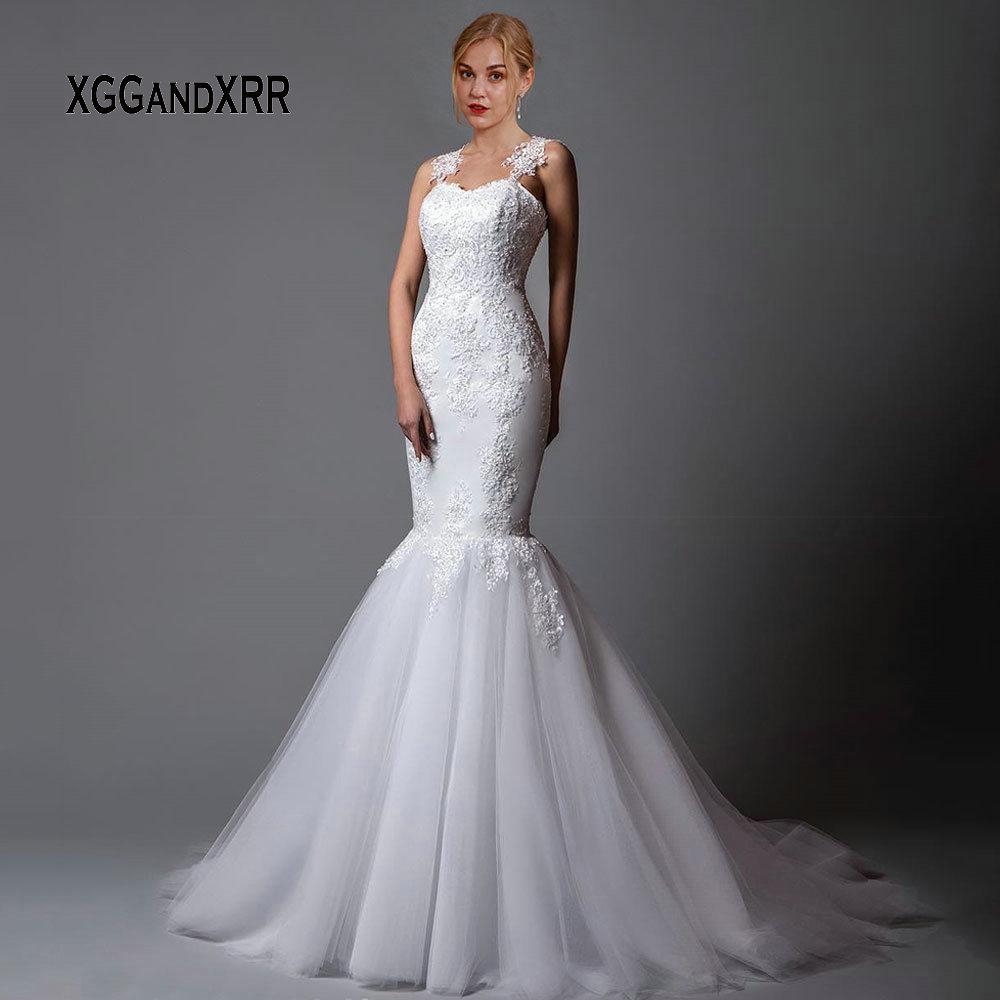 Sexy Lace Mermaid Wedding Dress 2019 Lace Bride Dress