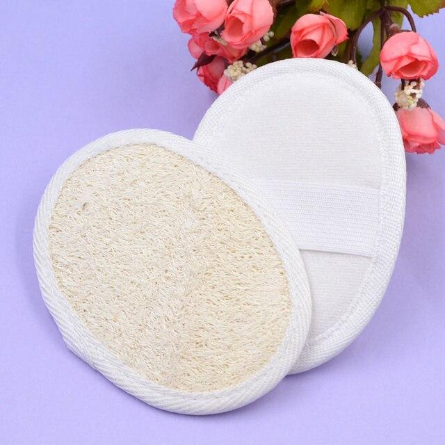 2 pz naturale efficace exfoliator bath brush massager doccia loofah luffa indiet