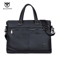 100 Genuine Leather Men Bag Brand Designed Men Laptop Briefcase Business Bag Cow Leather Men Handbag