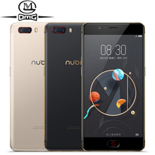 "ZTE Nubia M2 Android 4G Smartphone 4 GB RAM 64 GB ROM snapdragon 625 Octa base 5.5 ""double 13MP Avant 16MP 3630 mAh mobile téléphone"