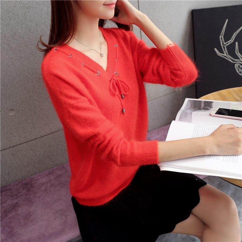 See 61 Yarn 6488 Winter see New Chart Collar V Chart Shirt Lace 8nawqaF01