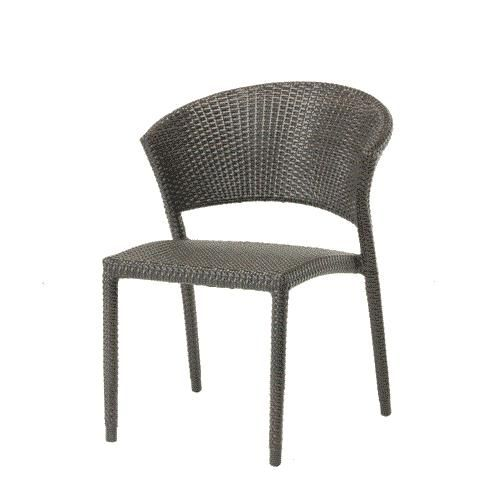 Gray Rattan Dining Chairs Folding Leather Chair Sigma Wholesale Outdoor Furniture Modern In