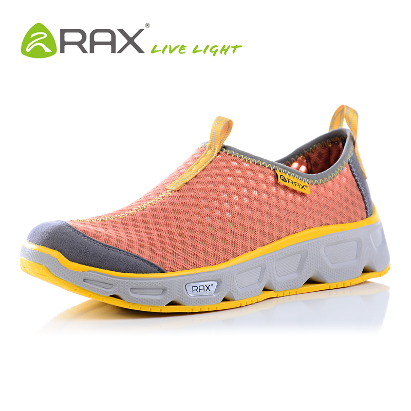 Rax 2018 Men Hiking Shoes Breathable Lightweight Beach Sandals Men Outdoor Walking Sneakers Summer Upstreams Shoes Quick Drying