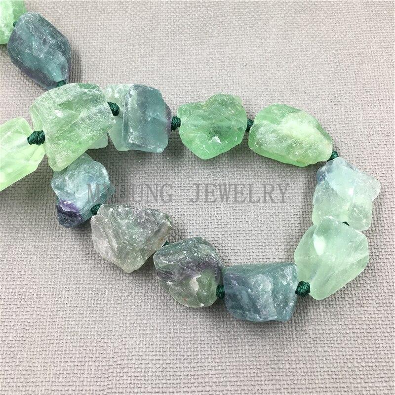 Raw Fluorite Crystal Quartz Nugget Beads,Rainbow Fluorite Crystal ,Green Fluorite,Healing Crystal,Blue Fluorite Stone MY0108 best 524 rainbow natural quartz crystal healin b1