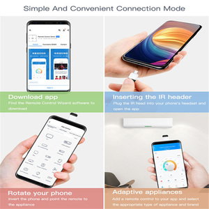 Image 3 - 마이크로 USB 타입 C 인터페이스 스마트 App 제어 휴대 전화 원격 제어 무선 적외선 가전 어댑터 TV TV 박스