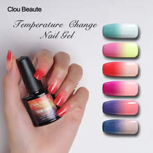 Clou Beaute Thermo Changing UV Gel Nail Polish Soak Off Nail Gel Color UV & LED Lacquer Temperature Varnish