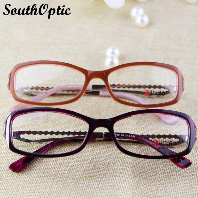 Moda óculos mulheres óculos de lectura montura óculos de visão óculos de aro cheio óculos infantil 7012