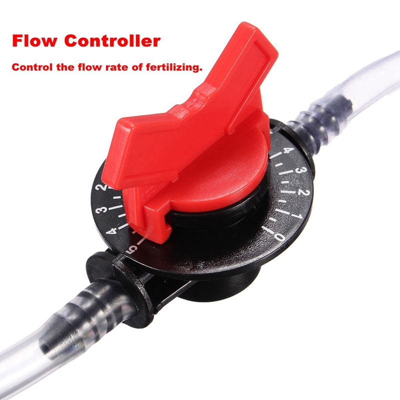 1 2 Garden Irrigation Device Venturi Fertilizer Injector Switch Water Tube Kit in Vacuum Cleaner Parts from Home Appliances